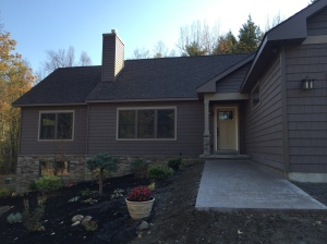 Custom Craftsman Style Ranch in Town of Ticonderoga, Essex County NY