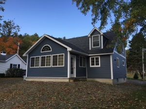 Custom home in Cape Cod Village at Lake George in Town of Hague, Warren County NY