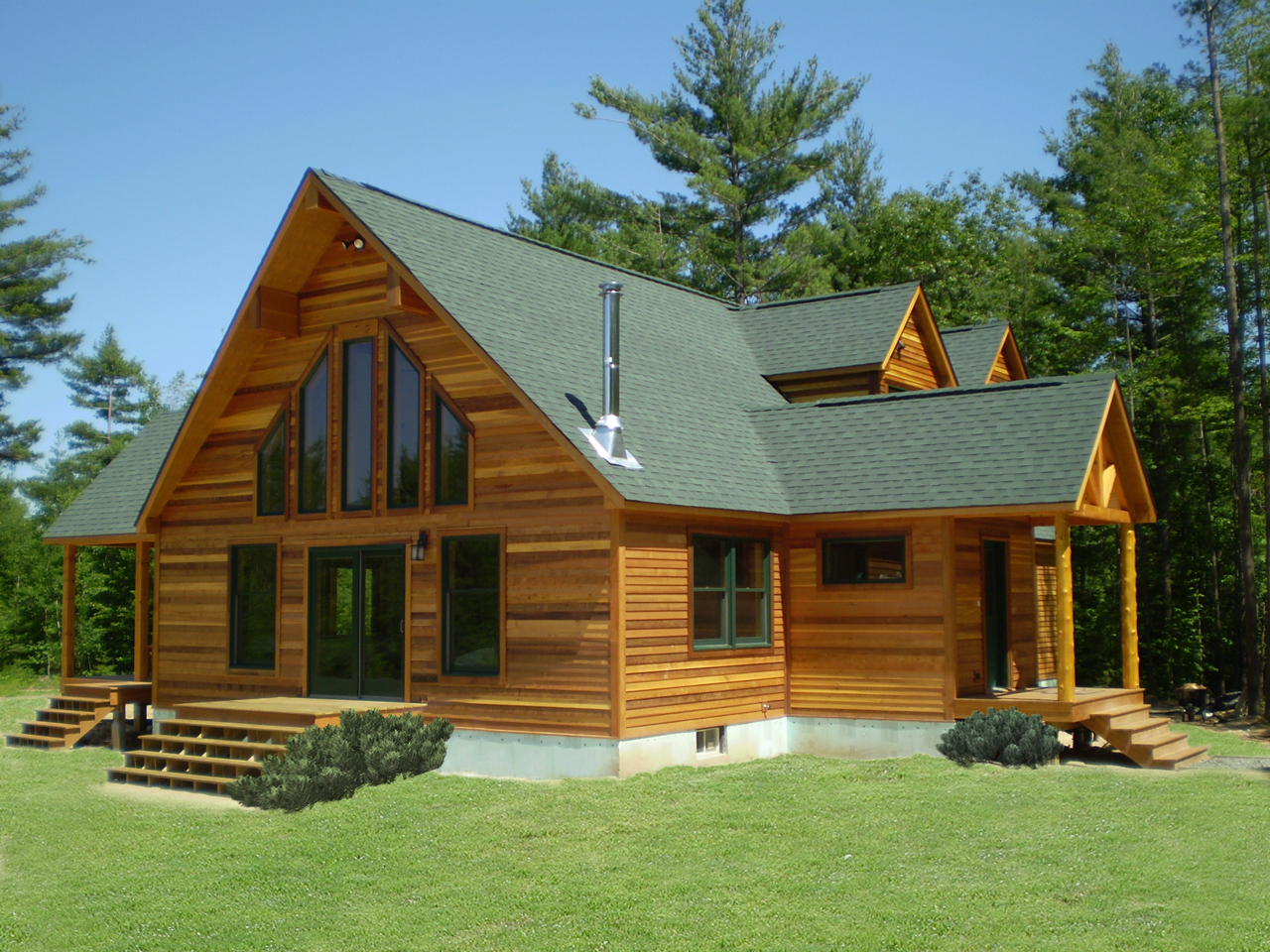 Saratogamodular on Pioneer Log Home Floor Plans