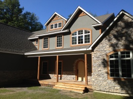 Custom modular home in Bolton Landing NY by Saratoga Modular Homes
