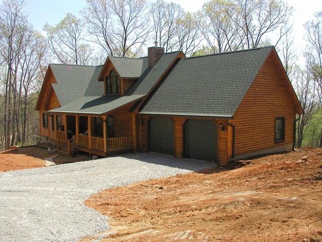 Modular log cabin