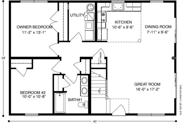 Cabin (Plan C) C-2