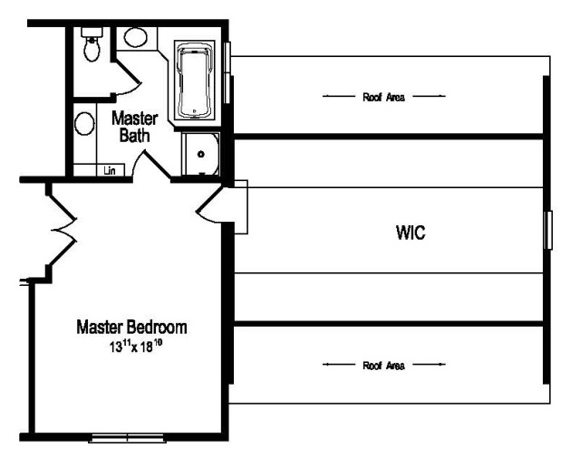 Sycamore optional master suite