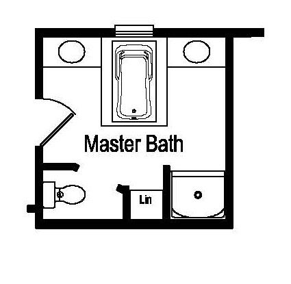 Tidewater Optional Master Bath